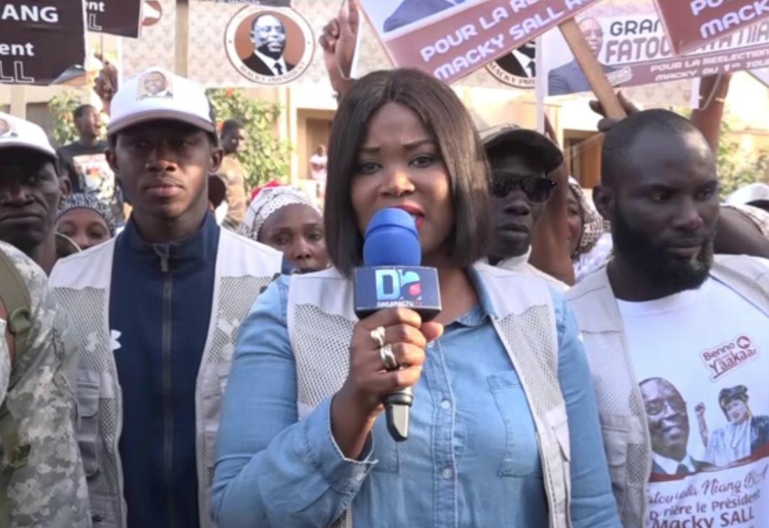 Fatoumata Niang Ba : « Nous voulons renforcer la sécurité à Grand-Yoff en créant de l'emploi pour la jeunesse…Mon ambition pour la mairie de Grand Yoff… Le combat de la femme dans un milieu d'hommes n'est pas gagné d'avance... »