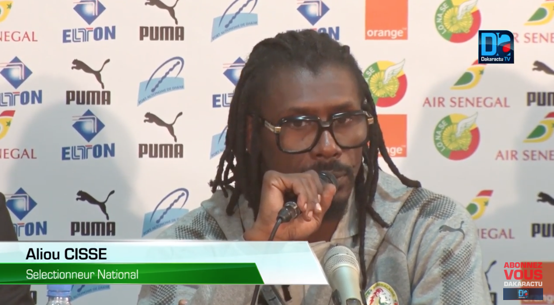 Aliou Cissé sur Kara Mbodj : « J'ai décidé de ne pas l'intégrer dans l'équipe »