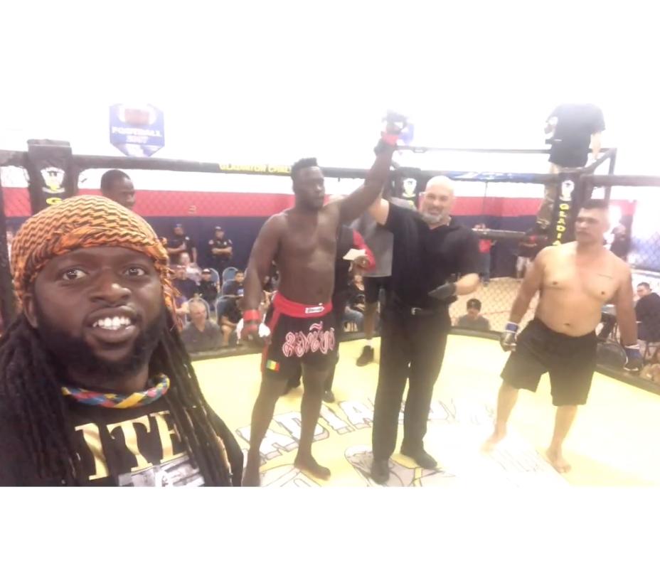 Siteu fait des débuts « ravageurs » en MMA