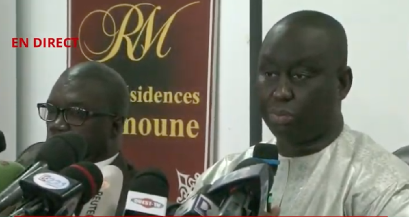 [Direct]  Aliou Sall face à la presse