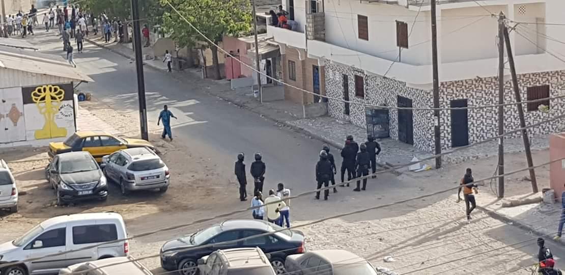 Comment les forces de l'ordre ont  réussi à maîtriser les manifestants