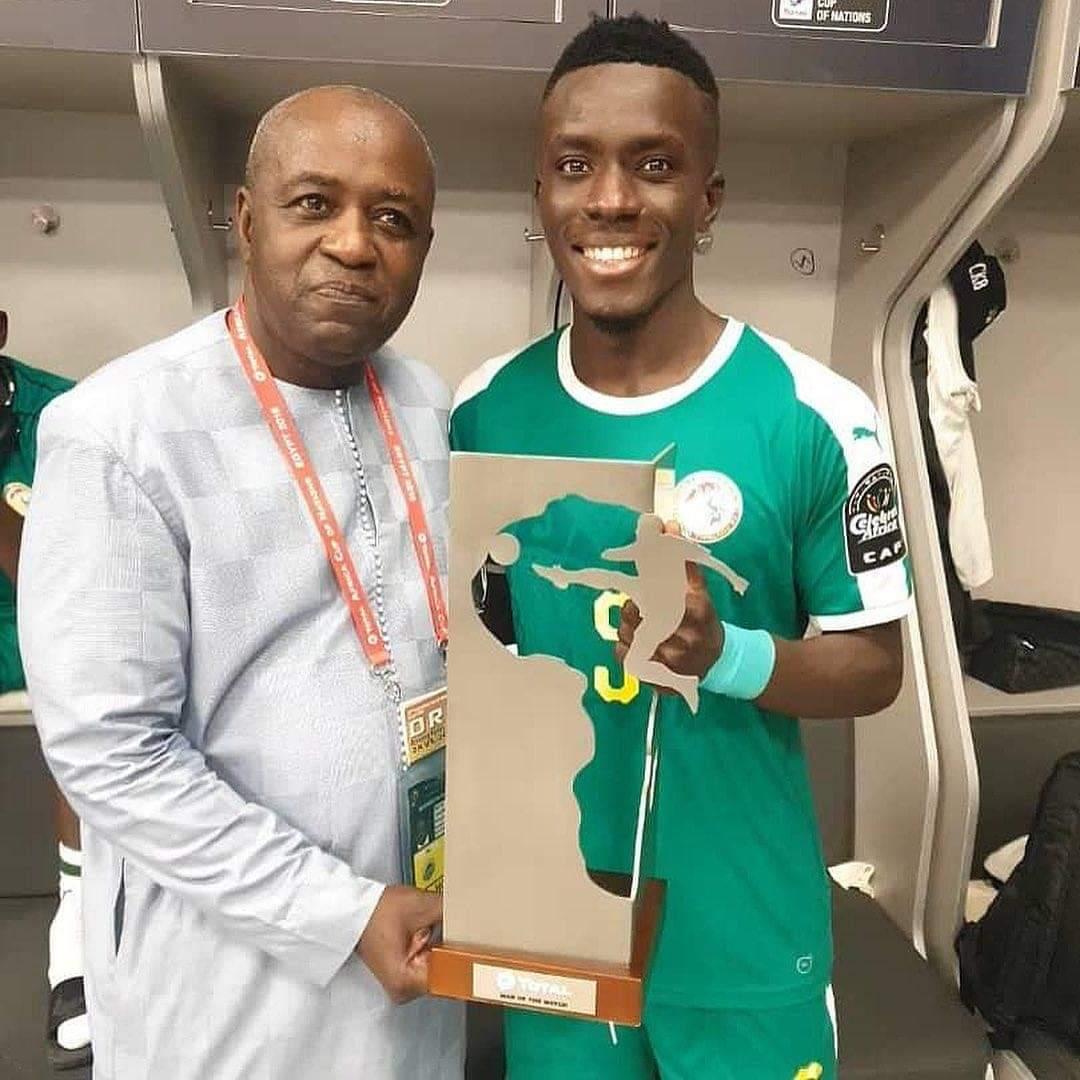 Idrissa Gana Guèye  désigné ...Homme du Match !