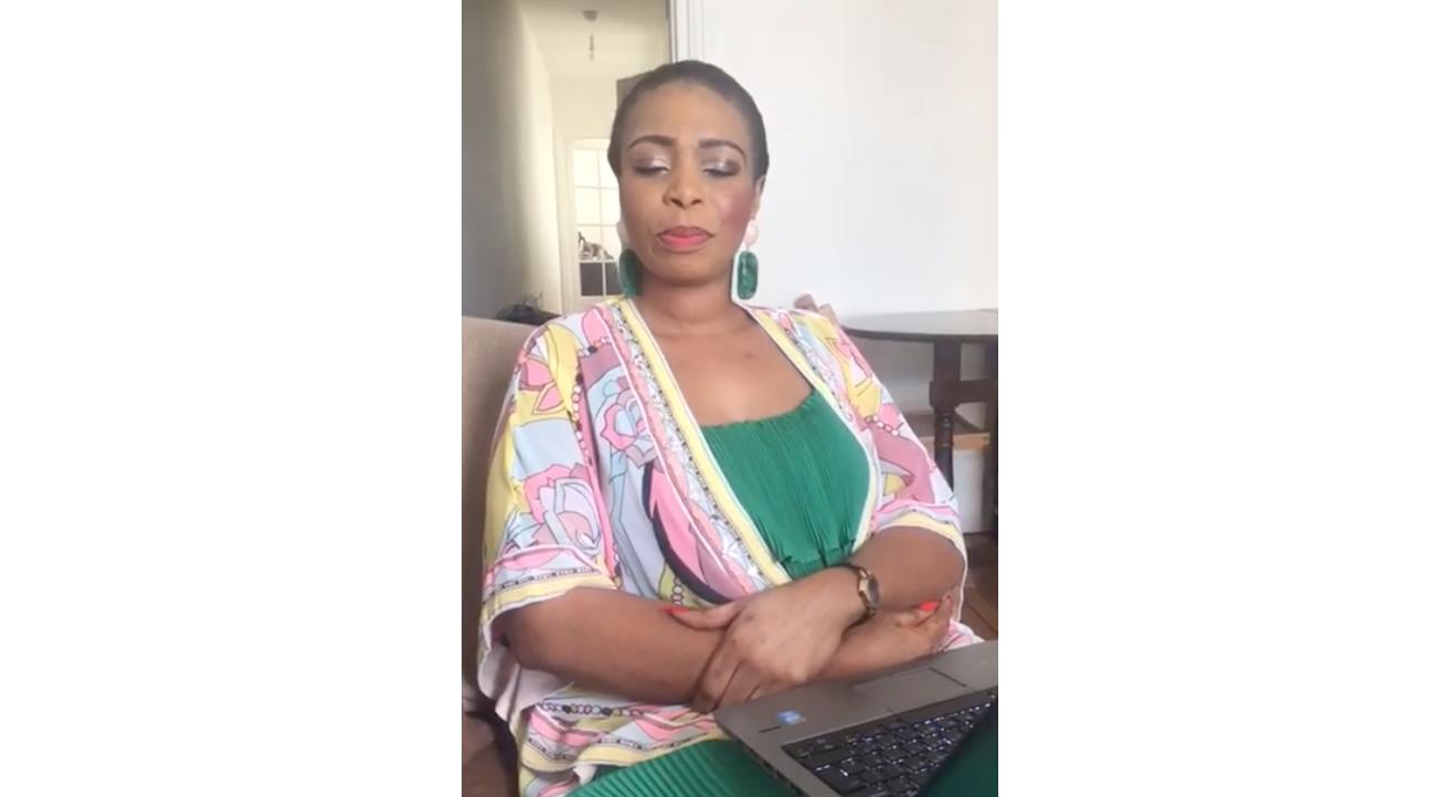 La déclaration de Suzanne NDIAYE coordinatrice du mouvement Diaspora Debout ! ( vidéo)