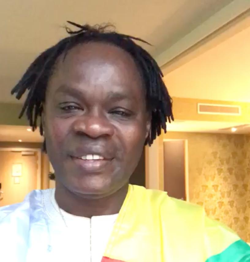 Depuis Bruxelles Baaba Maal félicite les lions du Sénégal