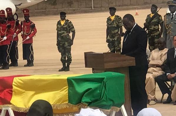 Macky Sall : «Je suis profondément bouleversé par la mort de Tanor Dieng »