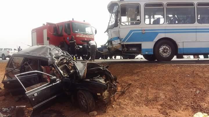 Urgent-Sept morts dans un grave accident à hauteur de Fatick