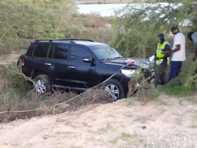 Terrible accident à Gandiol : Les premières images prises après la collision