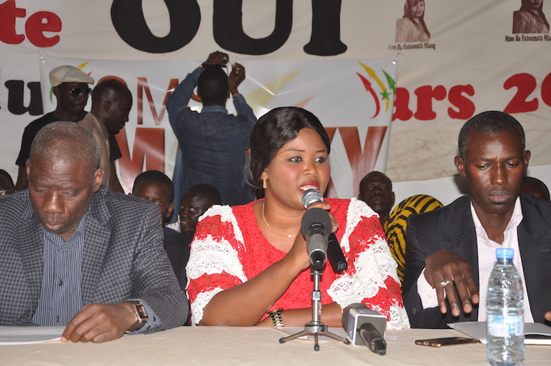 Fatoumata NIANG BA : ``Les bonnes perspectives économiques du Sénégal confirmées par le FMI démontrent que le Président SALL  est sur la bonne voie…