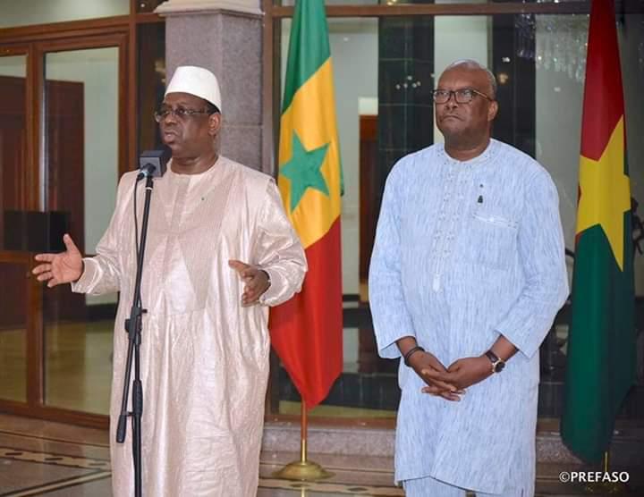 Attaque terroriste sur l'axe Ougarou-Boungou :  - Macky SALL solidaire au peuple burkinabè; - Il exprime la compassion de ses pairs de la CEDEAO