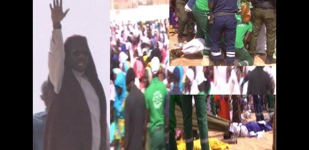 Gamou-2019 : L'arrivée spectaculaire de Serigne Moustapha Sy au champ de course