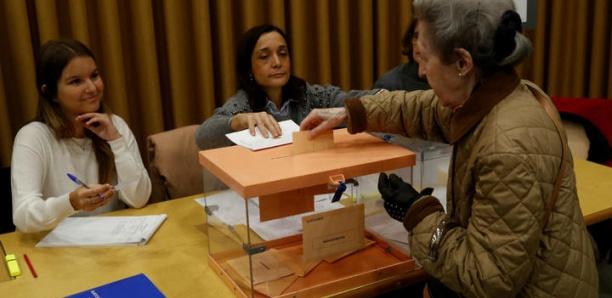 Ambiance crispée en Espagne, aux urnes pour la quatrième fois en quatre ans