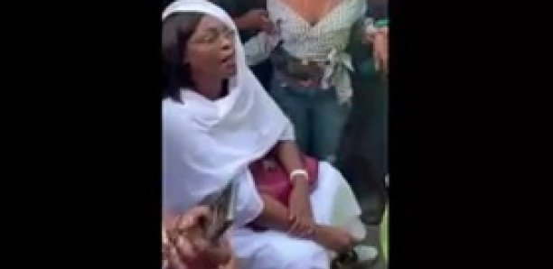 Promenade à Sandaga: Marième Faye Sall prise d'assaut par des badauds