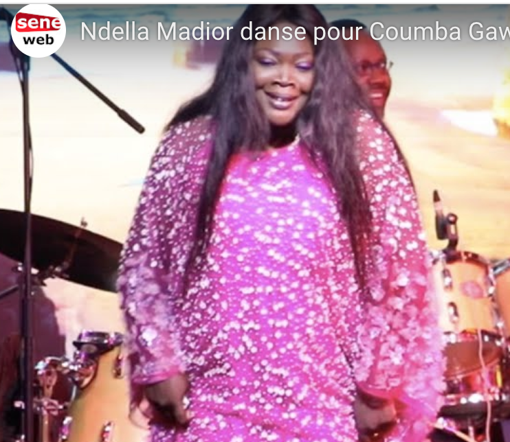 Ndella Madior danse pour Coumba Gawlo
