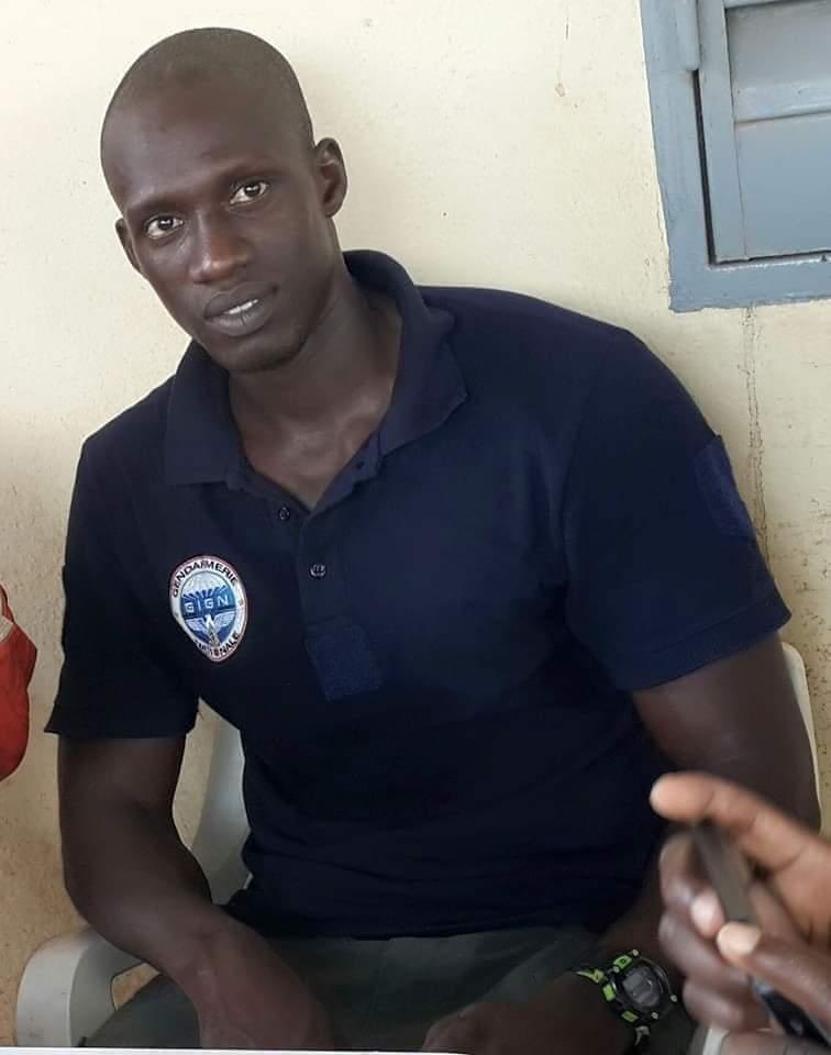 Voici l'élément du GIGN, Oumar Ndour décédé lors d'une formation organisée par les USA
