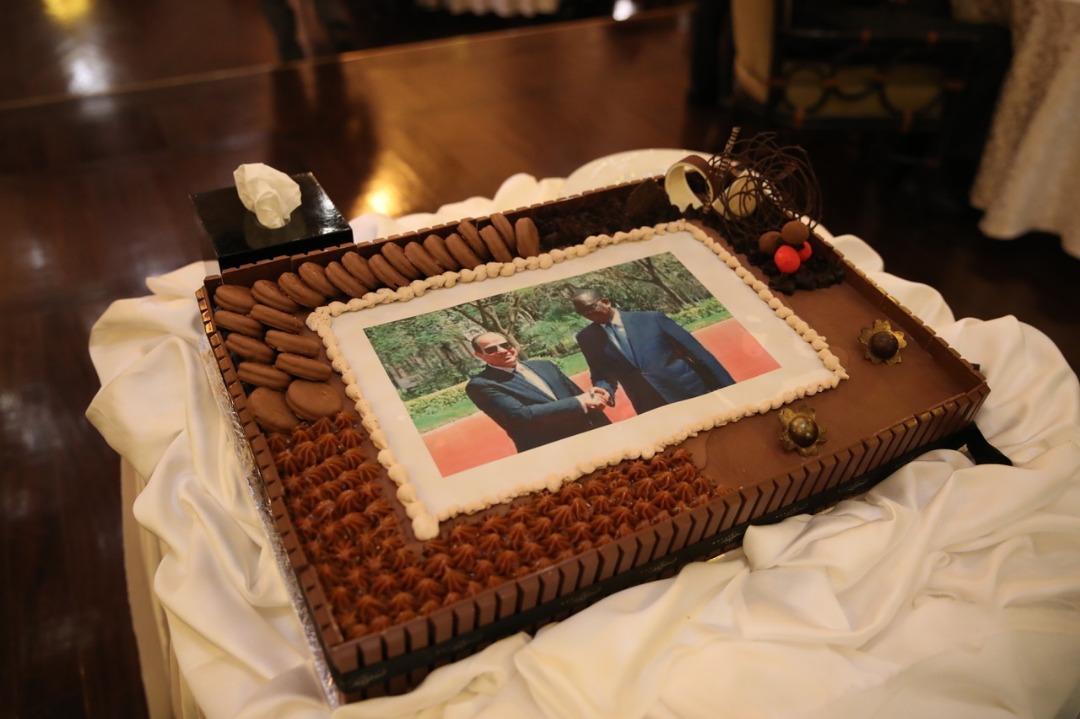 Anniversaire du Président lors du Diner Officiel au Old Cataract sur invitation du Président El-Sissi