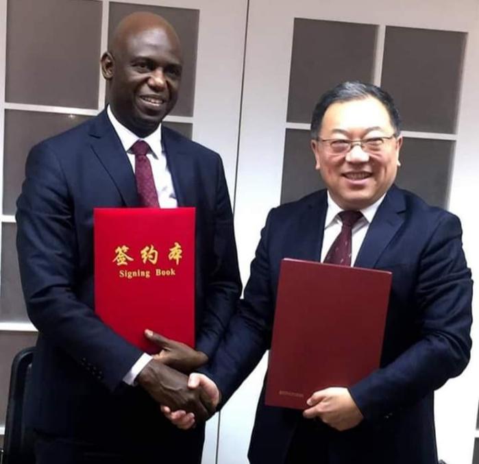 En visite de travail en Chine, Mansour Faye décroche des accords pour St-Louis