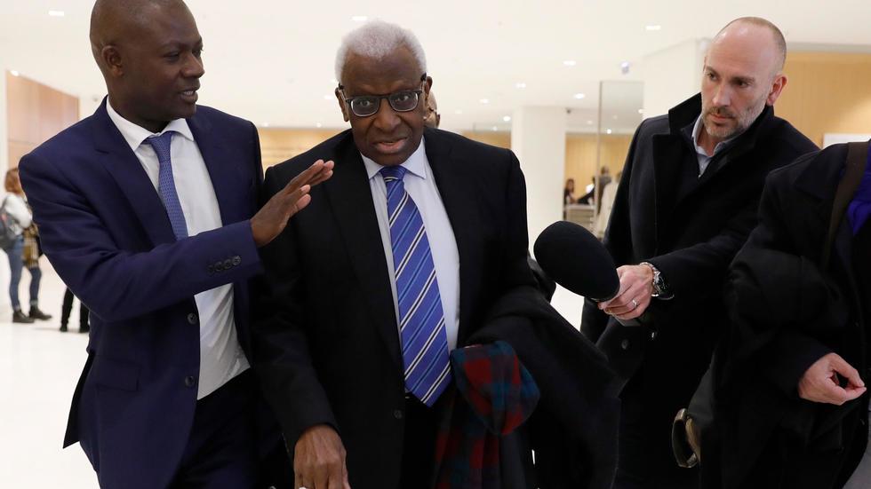 Le procès pour corruption de Lamine Diack, ex-patron de l'athlétisme mondial, renvoyé à juin