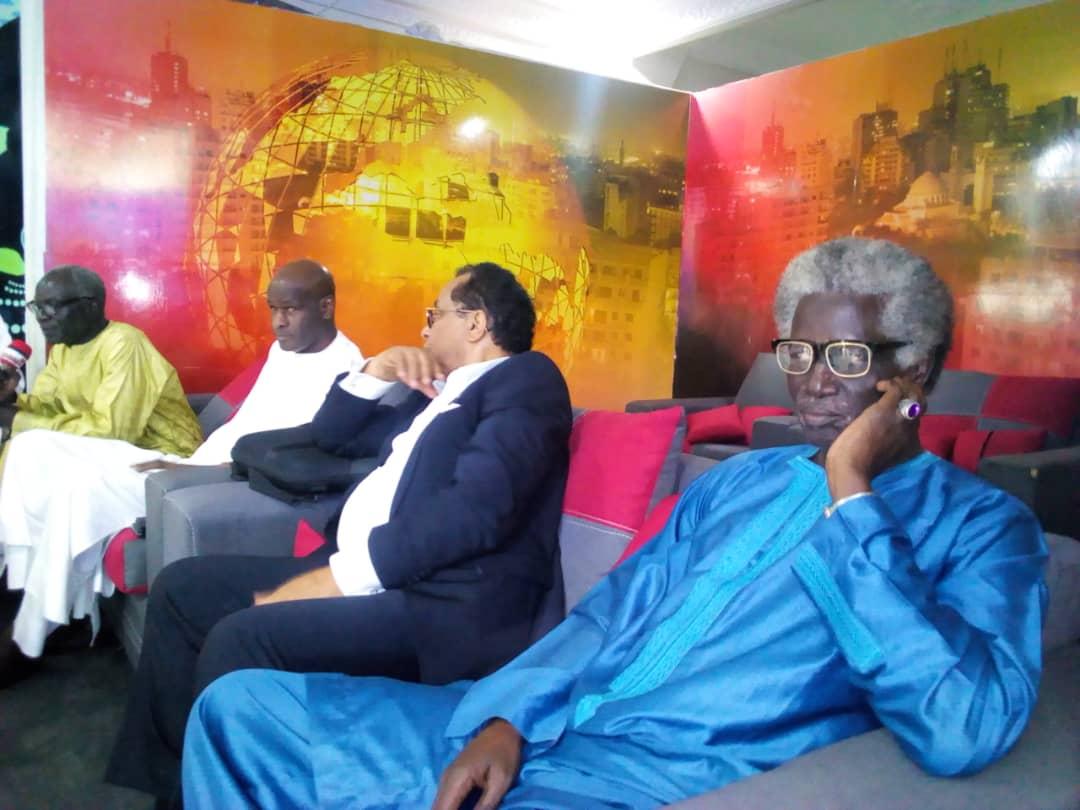 Audience: le Président Thierno Lo recevait ce samedi 1er février les retraites actionnaires  des ICS qui adhèrent à l'APD