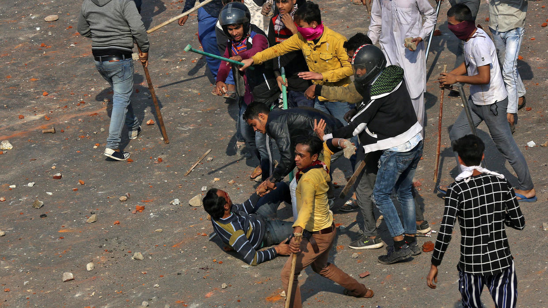 A New Delhi, 13 morts dans des violences entre hindous nationalistes et musulmans