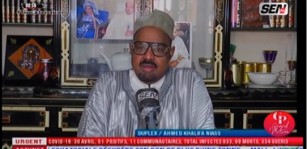 Nafila Online : Ahmed Khalifa Niasse inflexible, donne d'autres explications