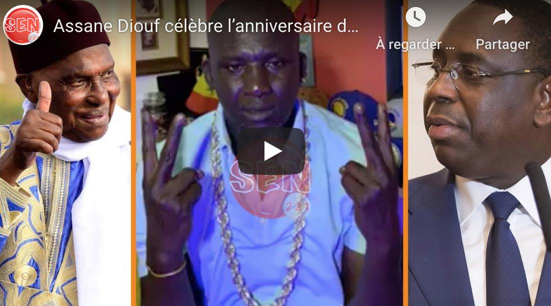 VIDEO - Assane Diouf célèbre l'anniversaire de Me Wade et dénigre Macky Sall