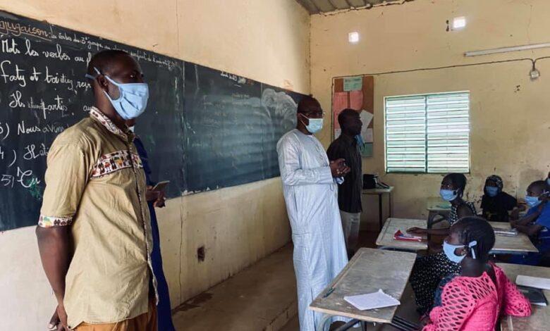 Ogo : le Maire en visite dans plusieurs établissements scolaires