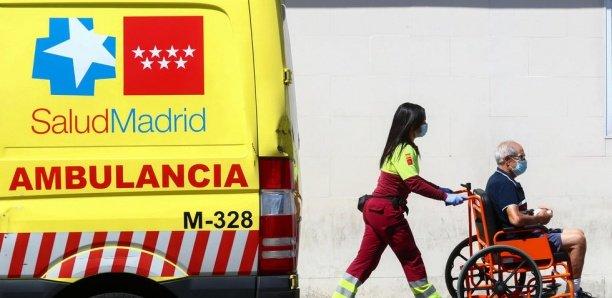 Covid-19 : Sept pays de l'UE, dont l'Espagne, dans une situation sanitaire inquiétante