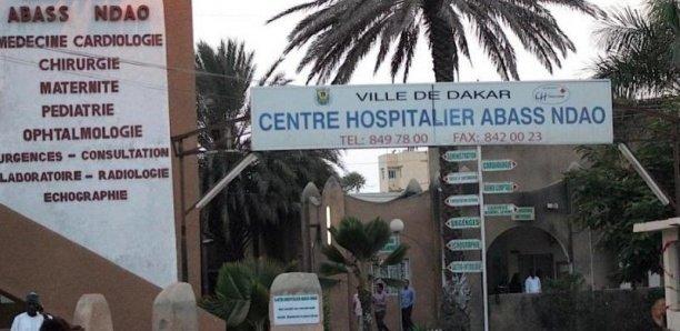 L'Hôpital Abass Ndao à l'arrêt