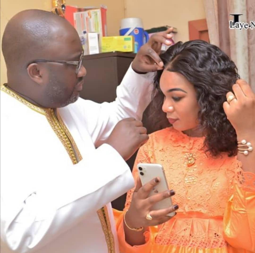 Maodo Malick Mbaye et sa femme un couple glamour...