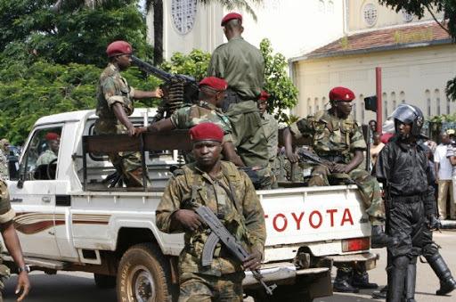 Mutinerie à Kindia : L'armée se déploie à Coyah.