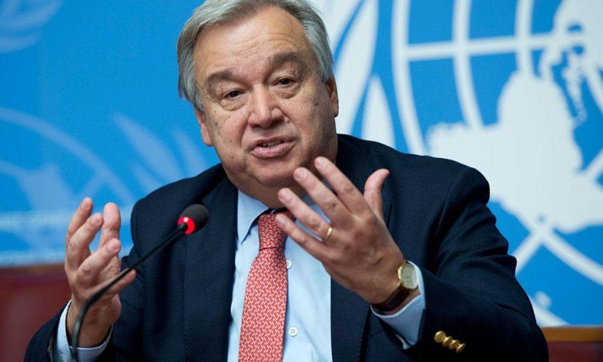 La réaction de l'ONU sur la situation en Guinée