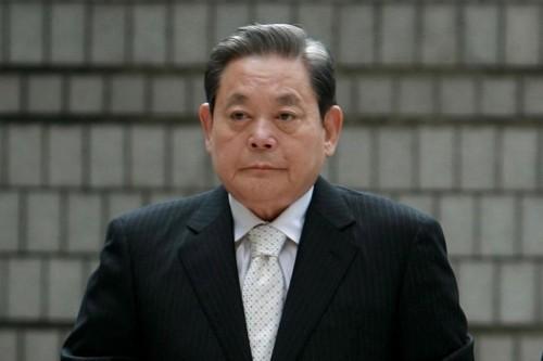 Le président de Samsung Electronic, Lee Kun-hee, est mort