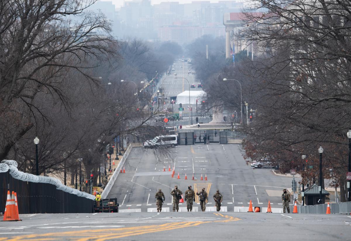 Washington se barricade avant l'investiture de Joe Biden (images)