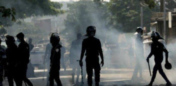 URGENT- Ça chauffe à Rosso Sénégal... Les jeunes affrontent les forces de l'ordre...