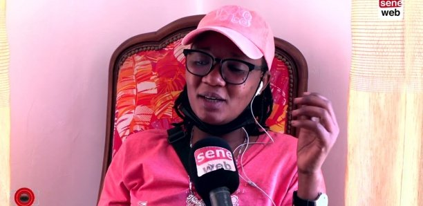 Diarra, une ancienne internationale de football devenue livreuse