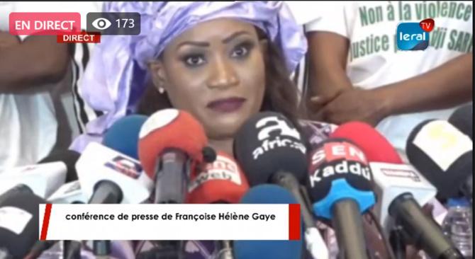 """Françoise Hélène Gaye: """"Je suis du côté de Adji Sarr, il faut reconnaître à Sonko sa présomption d'innocence"""""""