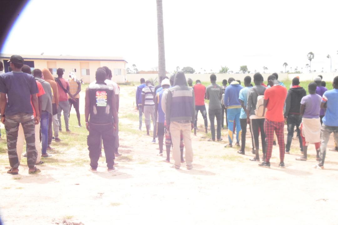 Plus de 200 migrants sont entrés dans l'enclave espagnole de Melilla