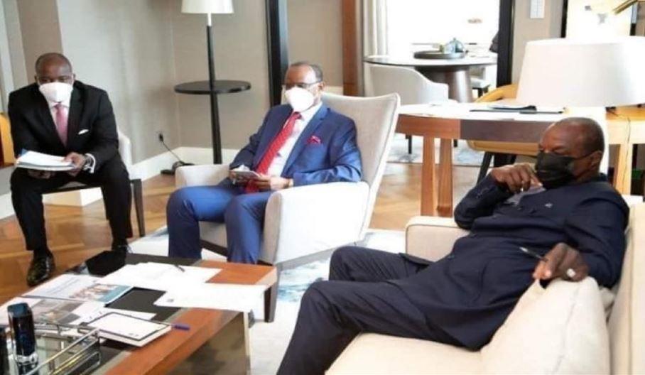 Guinée: le sort du président déchu Alpha Condé toujours en discussion