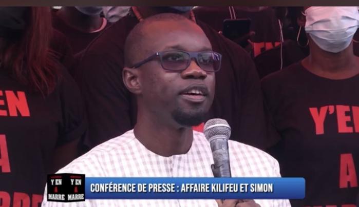 Ousmane Sonko à Y'en à marre : « Nous mènerons ce combat ensemble… »