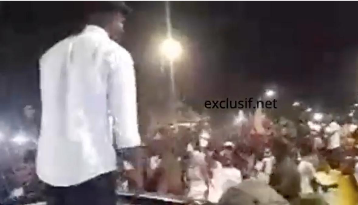 Ziguinchor, Sonko draine une foule et esquisse des pas de danse (Vidéo)