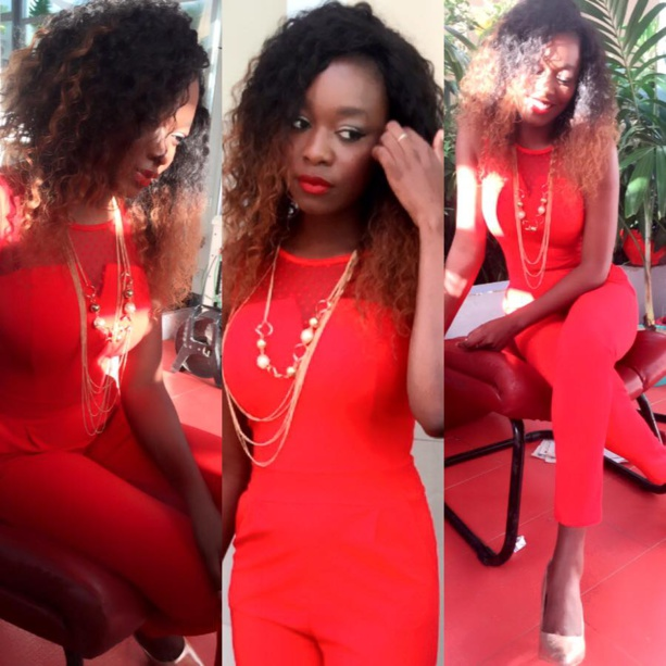 Khady Ndiaye Bijou ose le total look rouge !