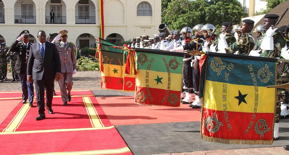 Journée des Forces Armées au Camp Dial Diop