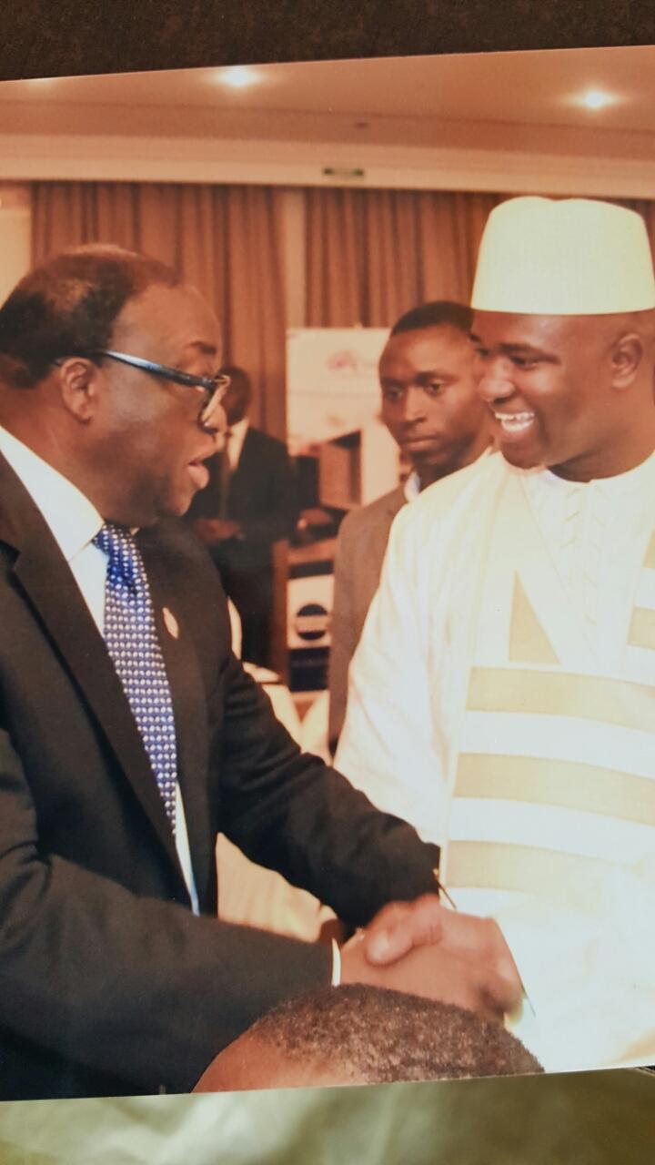 Cheikh Mbacké Gadiaga se lance dans la politique; il  va soutenir le leader de l'AFP, Moustapha Niass