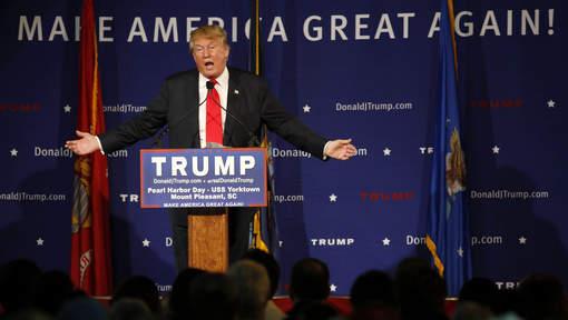 """Donald Trump """"disqualifié"""" de la présidentielle"""