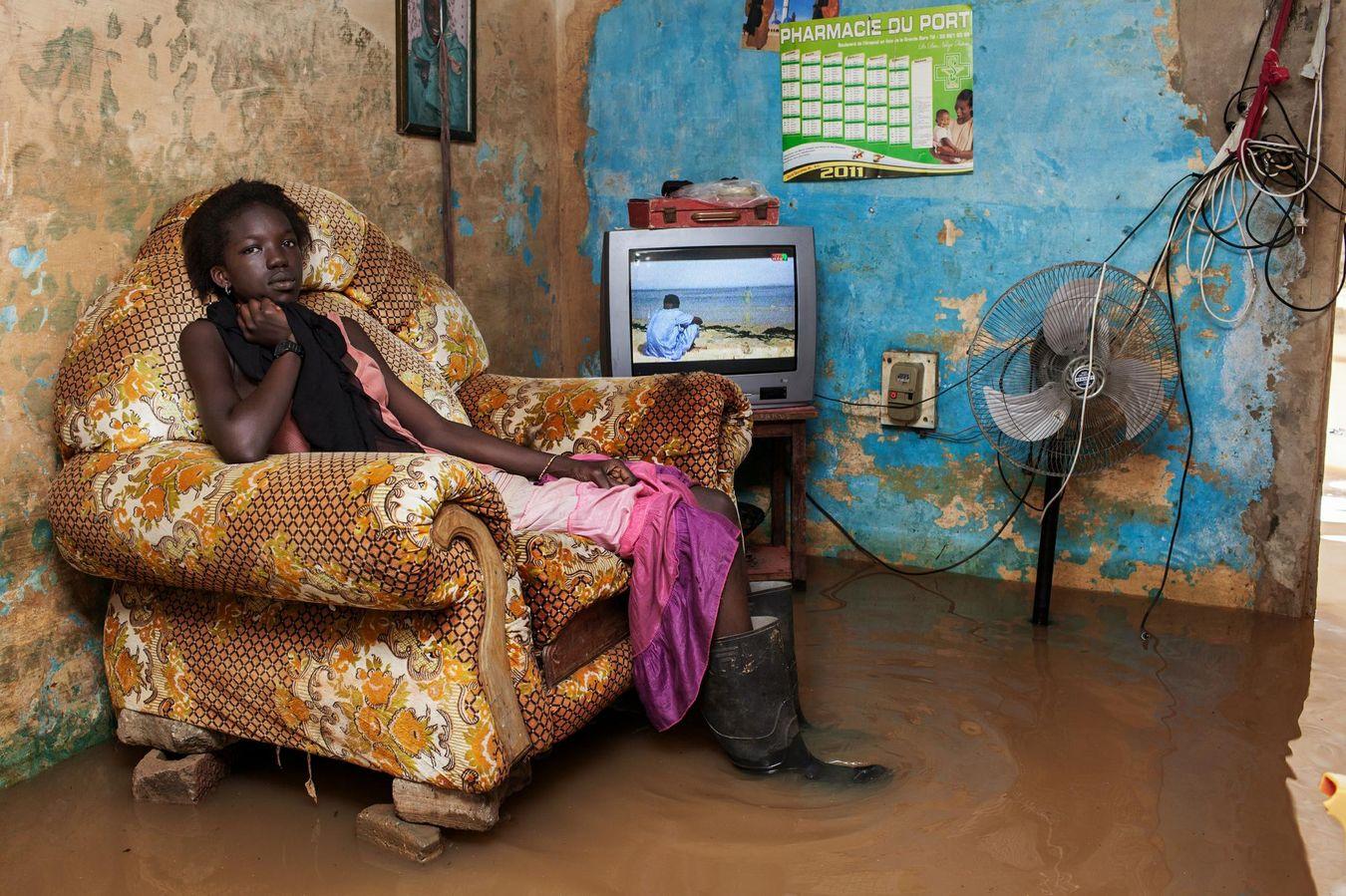 A Dakar, le changement climatique fait son lit