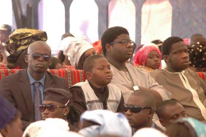 Voici les fils de Serigne Moustapha Sy, aussi des homonymes de Serigne Cheikh et de Serigne Babacar Sy