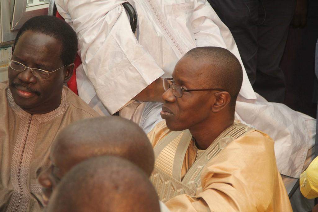 Quand toute la République se retrouve au mariage de  la fille de l'Inspecteur au Trésor, Mamadou Bocoum avec le fils de Serigne Mbacké Ndiaye!