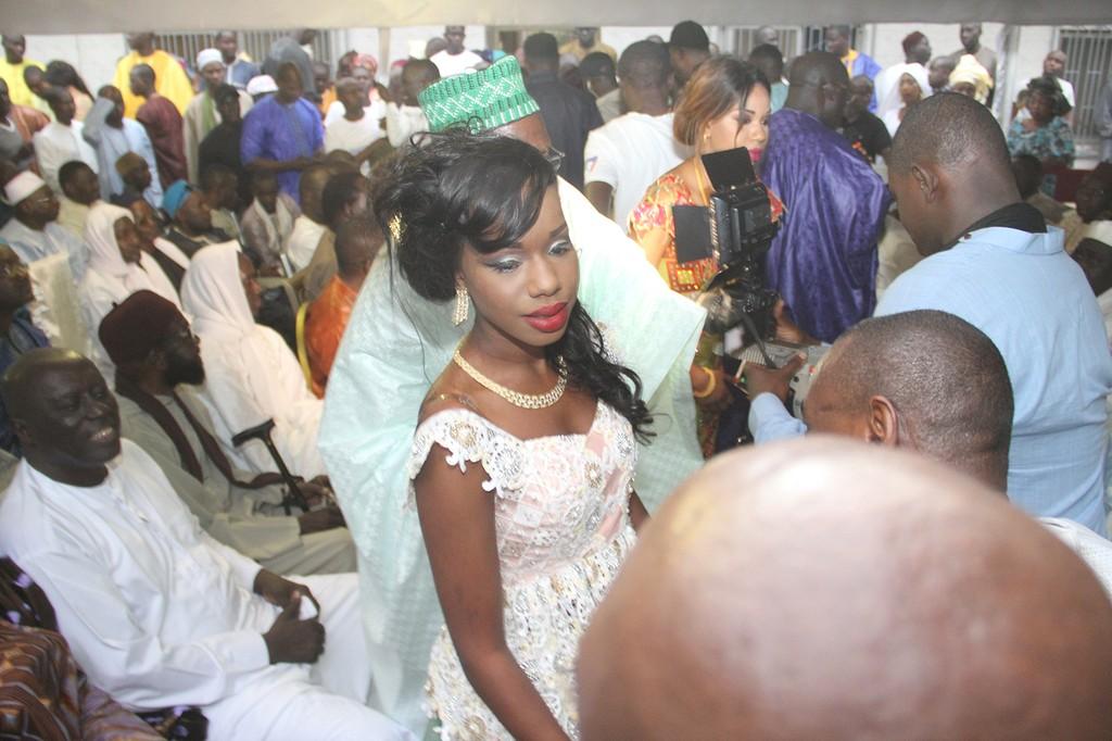 La jeune mariée, désormais Mme Ndiaye Dieyna Bocoum