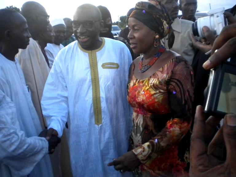 Le Garde des sceaux, ministre de la Justice s'est rendu chez l'Inspecteur Ousmane Faye