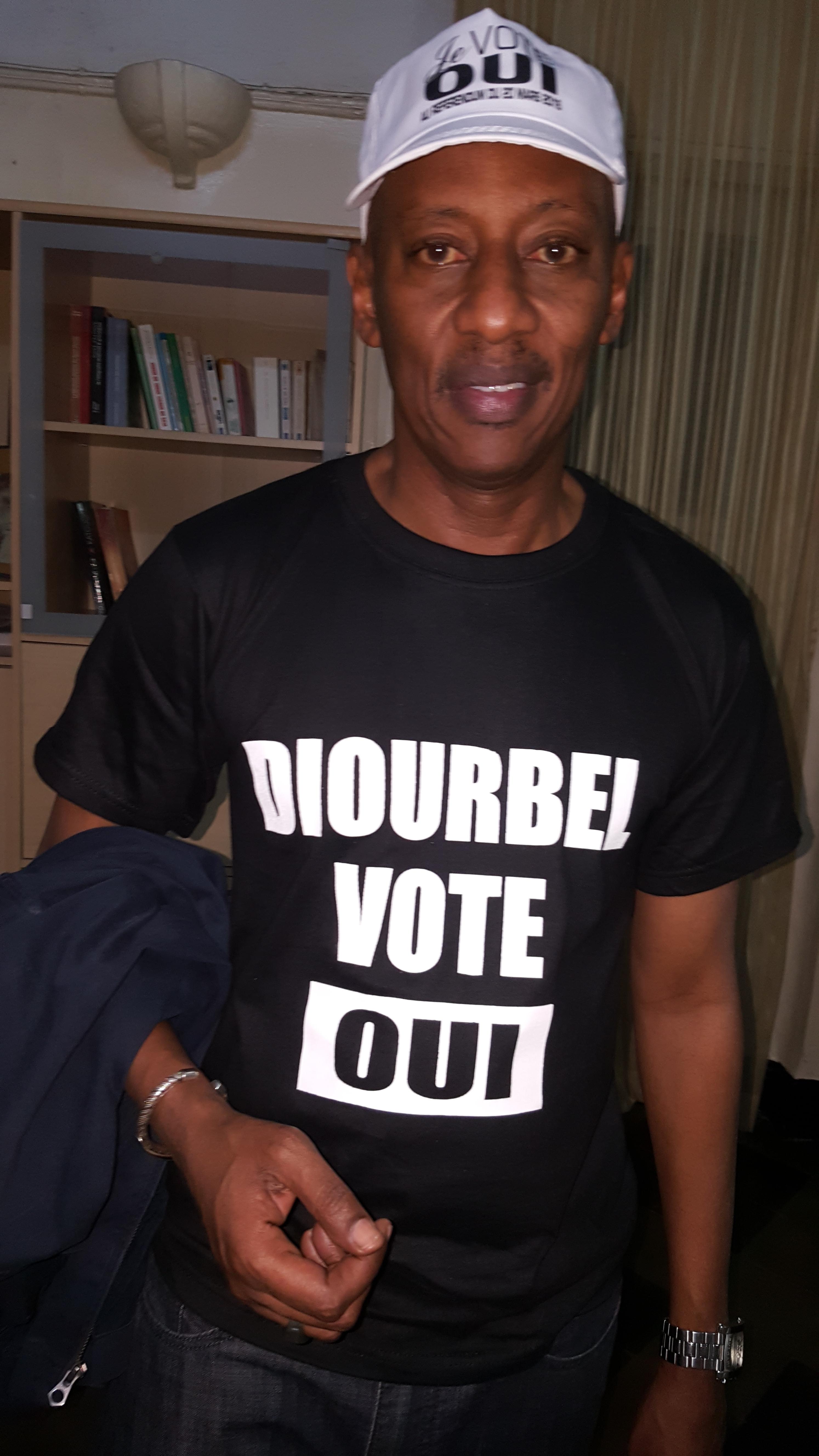 """Elhaj Dia vote """"Oui"""""""